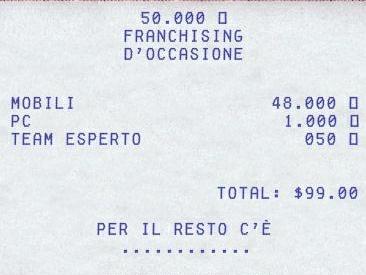 franchising-receipt
