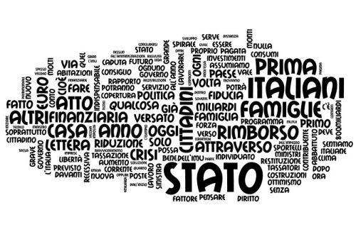 Il discorso del 3 Febbraio 2013 alla Fiera di Milano