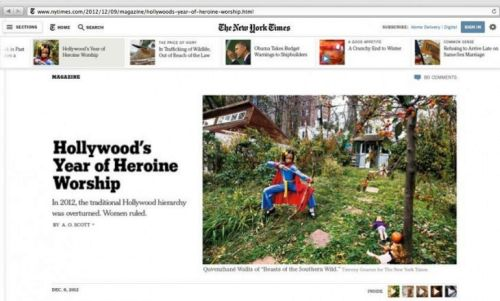 NYTimes 1st Look