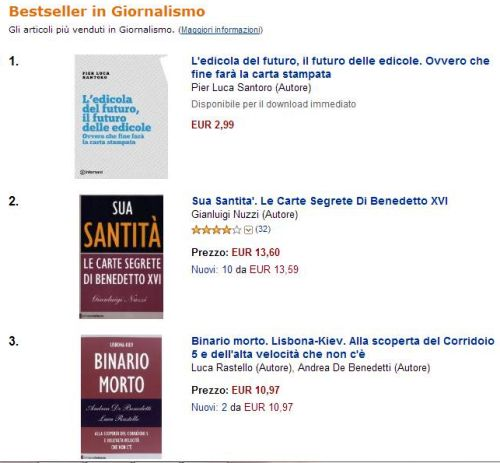 libro pls classifica Amazon
