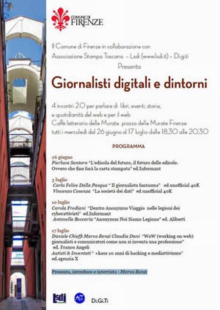 Locandina Giornalisti digitali