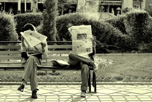 lettori panchina