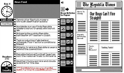 The Republia Times Prima Pagina