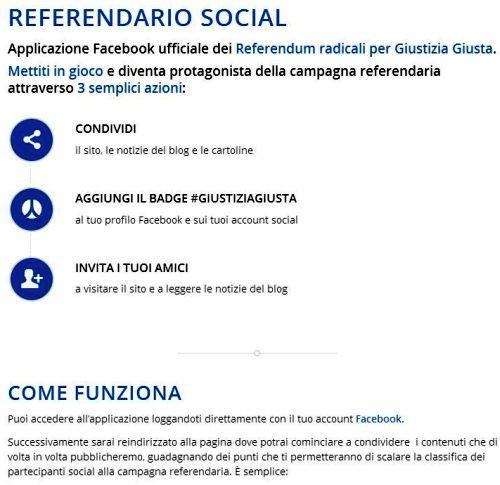 Referendario Social