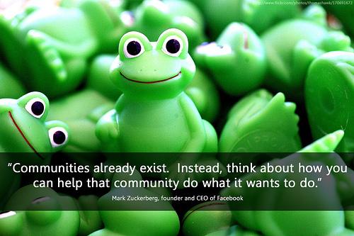 Communities Frog