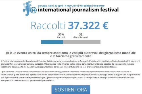 Sostieni Festival Giornalismo